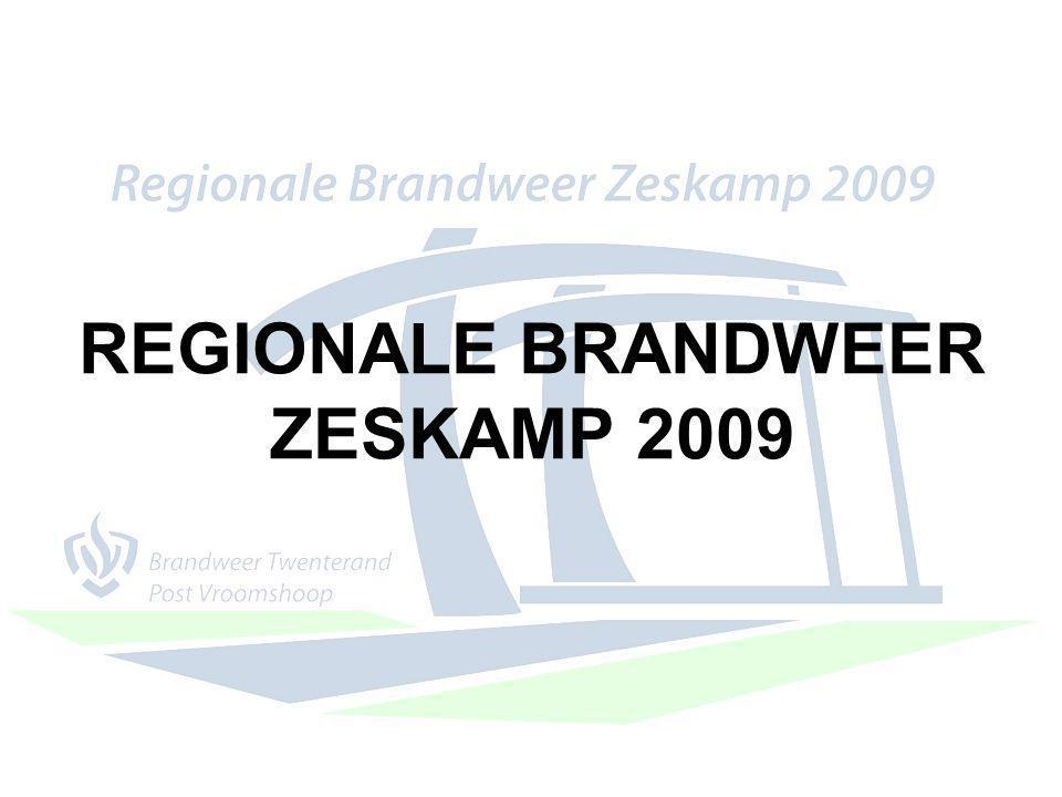 REGIONALE BRANDWEER ZESKAMP 2009