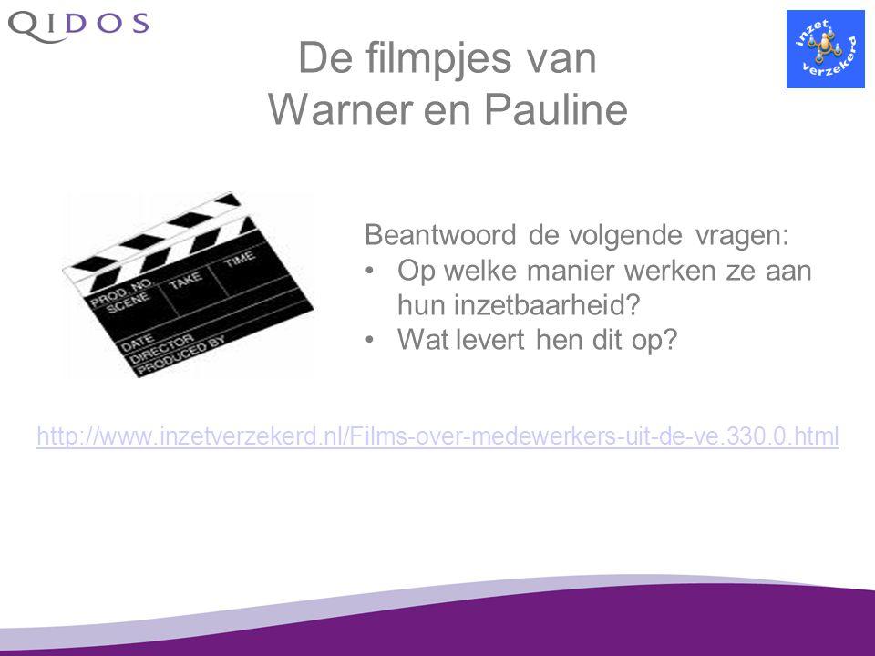 De filmpjes van Warner en Pauline