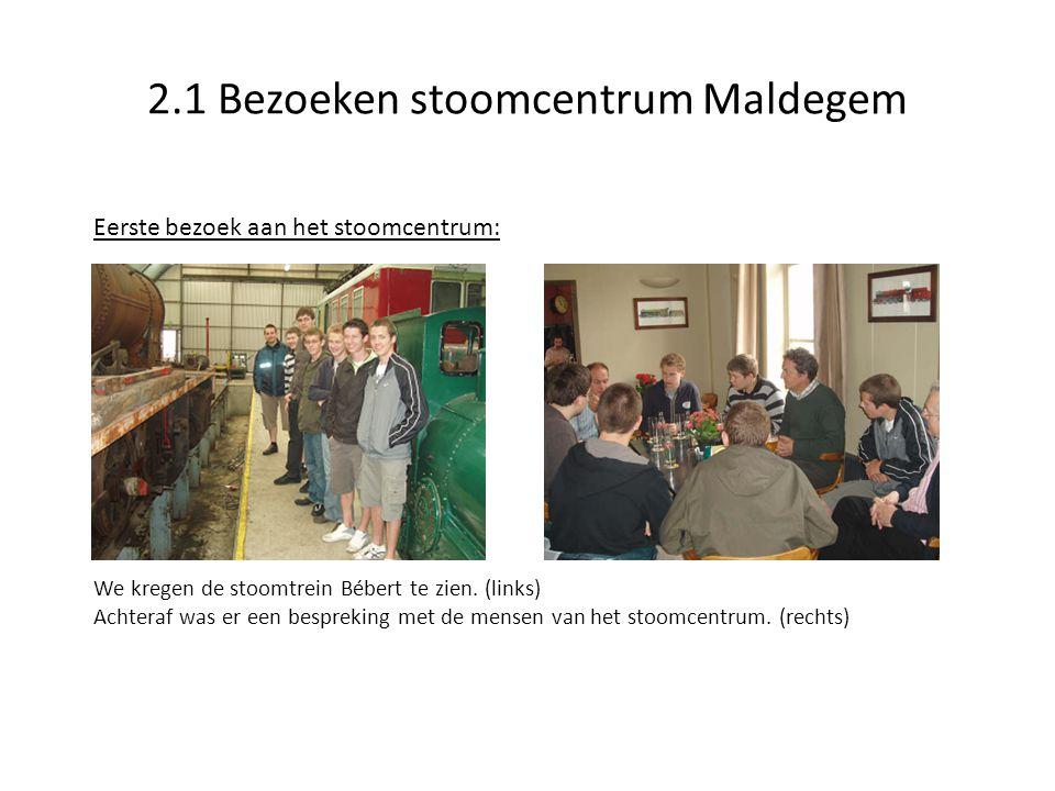 2.1 Bezoeken stoomcentrum Maldegem