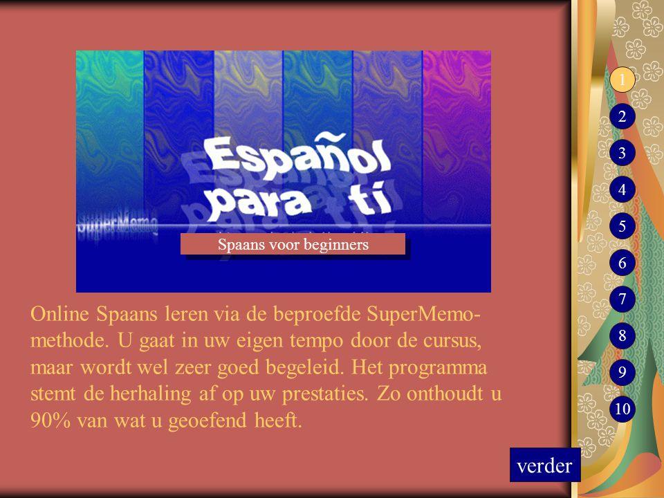 1 2. 3. 4. 5. Spaans voor beginners. 6. 7.