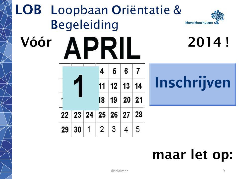 LOB Loopbaan Oriëntatie & Begeleiding