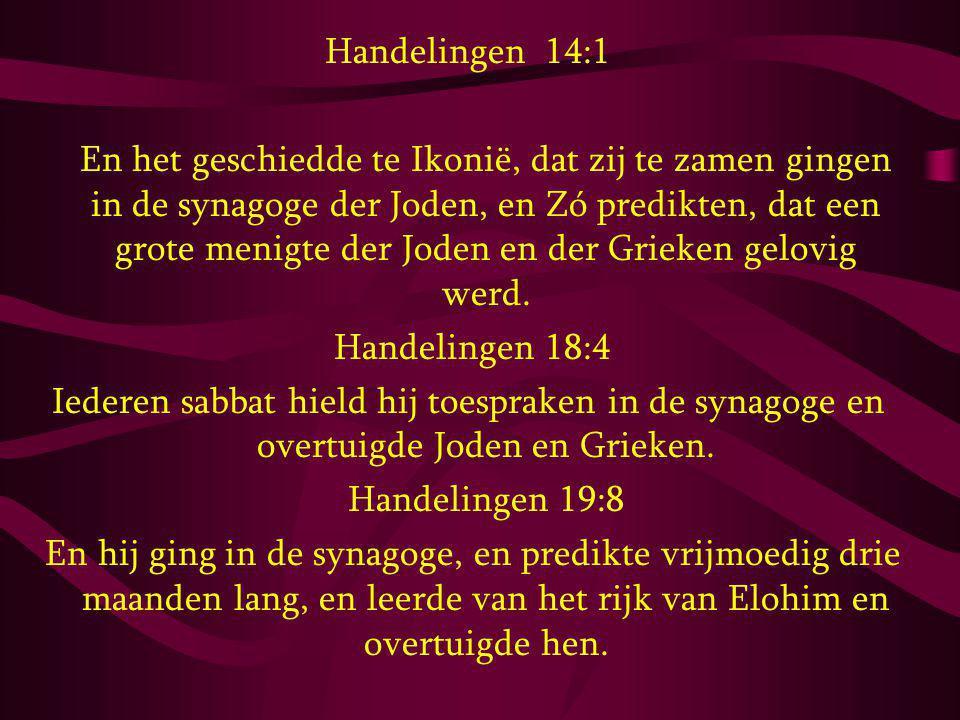 Handelingen 14:1