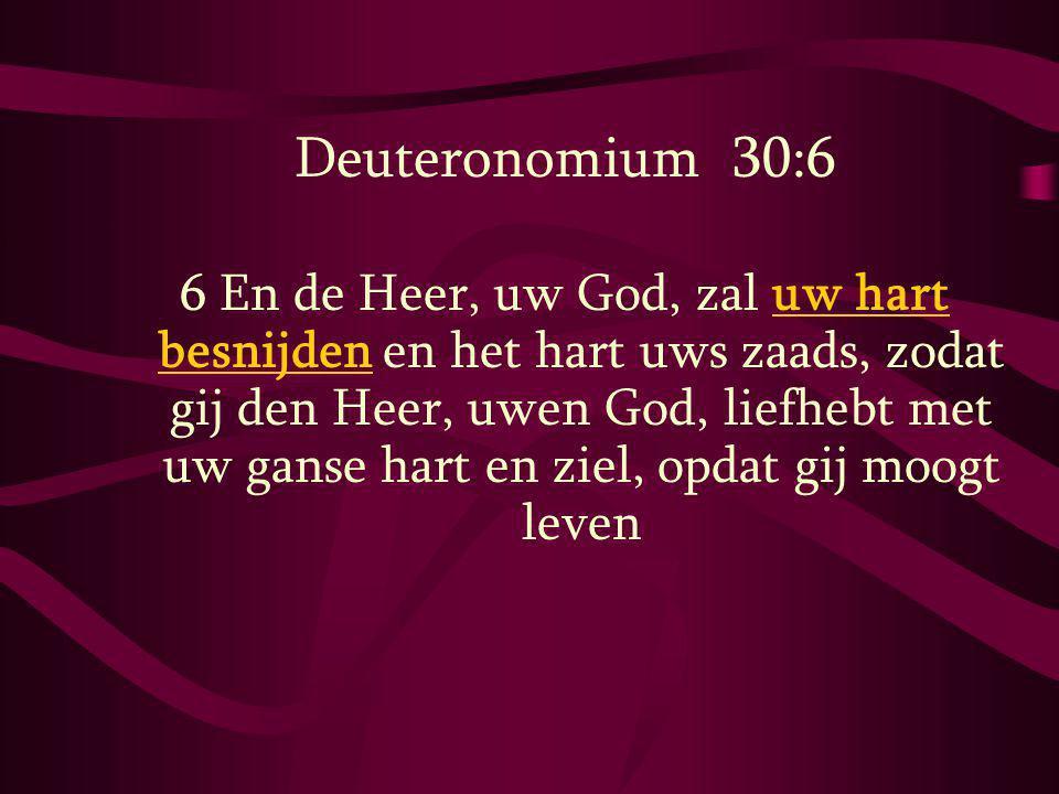 Deuteronomium 30:6