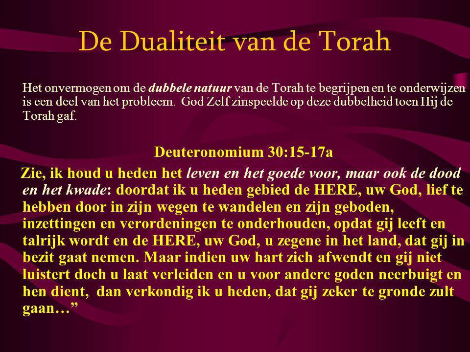De Dualiteit van de Torah