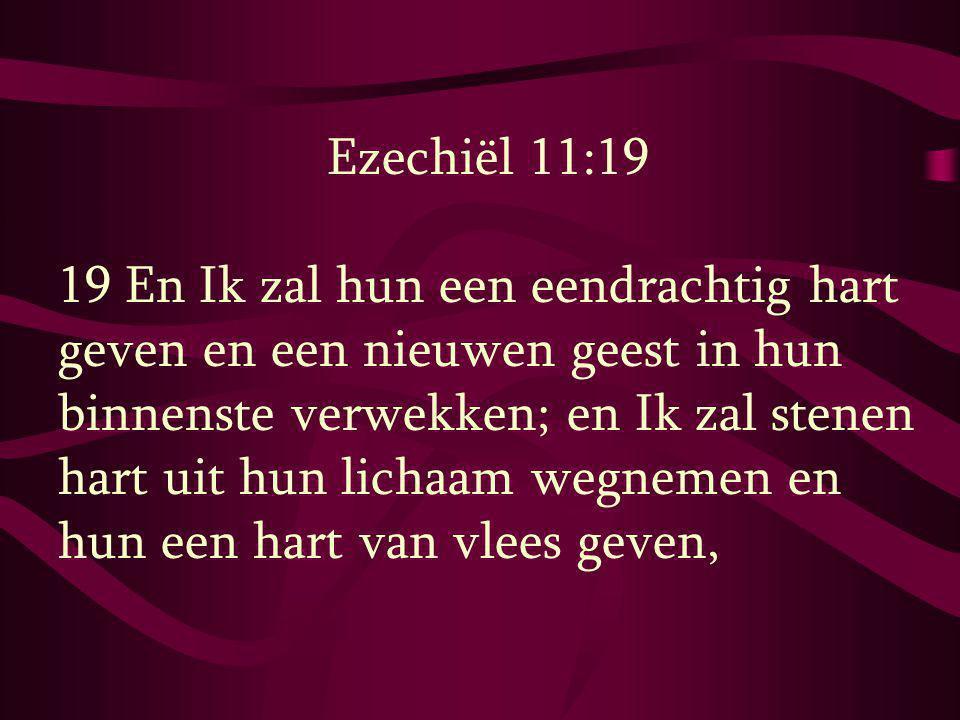 Ezechiël 11:19