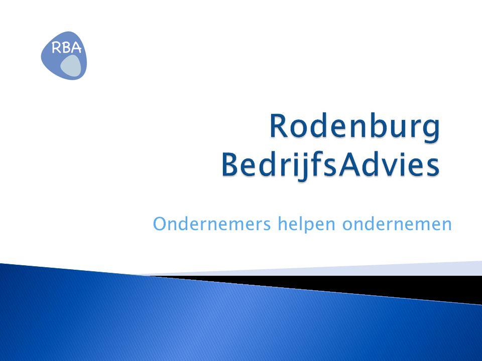 Rodenburg BedrijfsAdvies