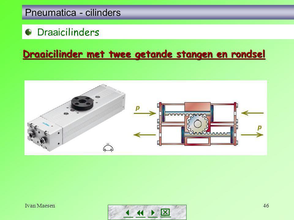 Pneumatica - cilinders