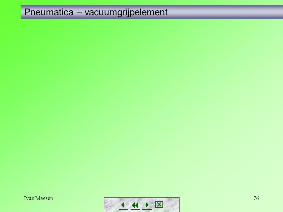 Pneumatica – vacuumgrijpelement