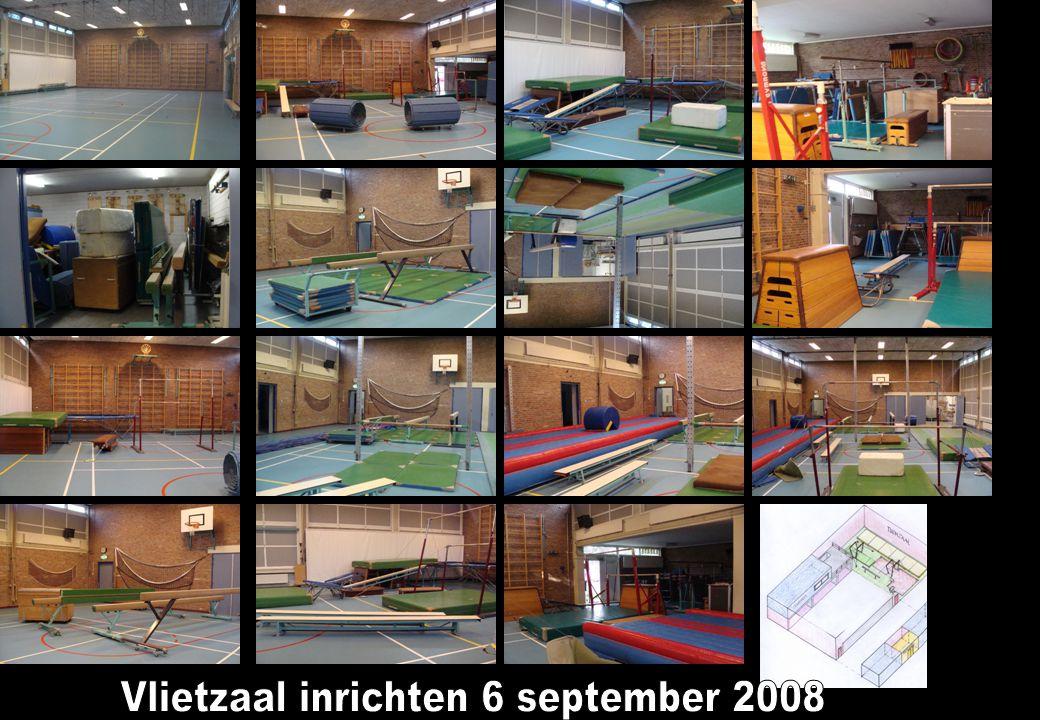 Vlietzaal inrichten 6 september 2008