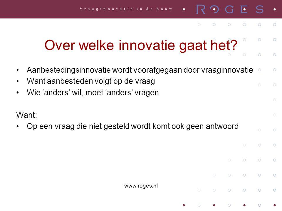 Over welke innovatie gaat het