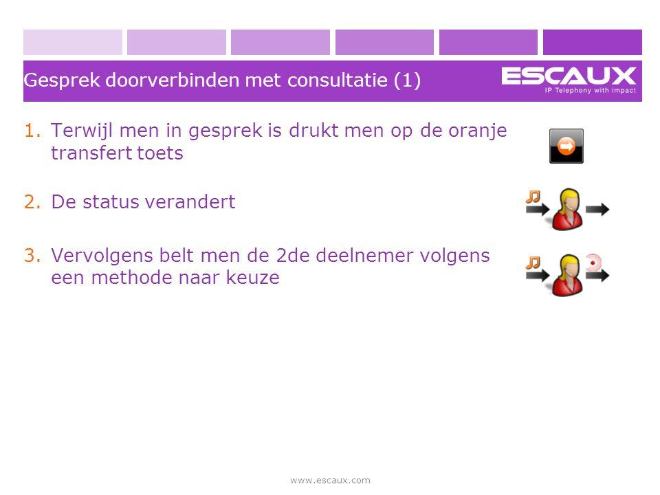 Gesprek doorverbinden met consultatie (1)