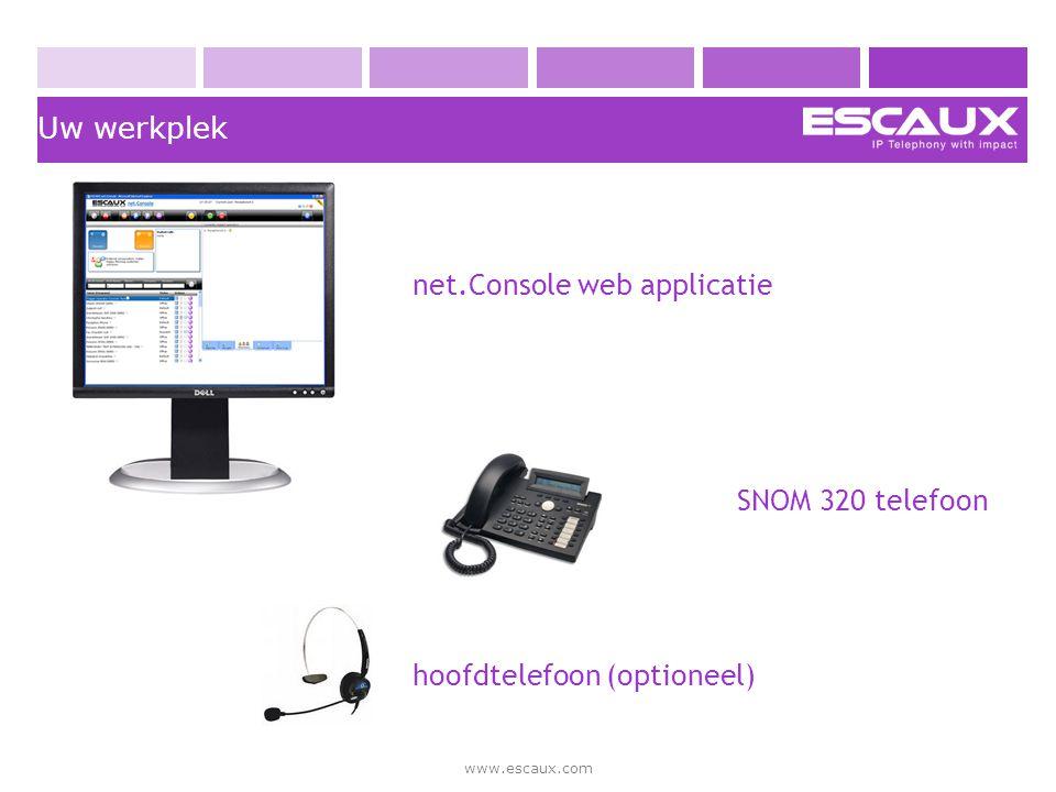 net.Console web applicatie