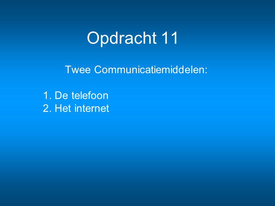 telefoon en internet