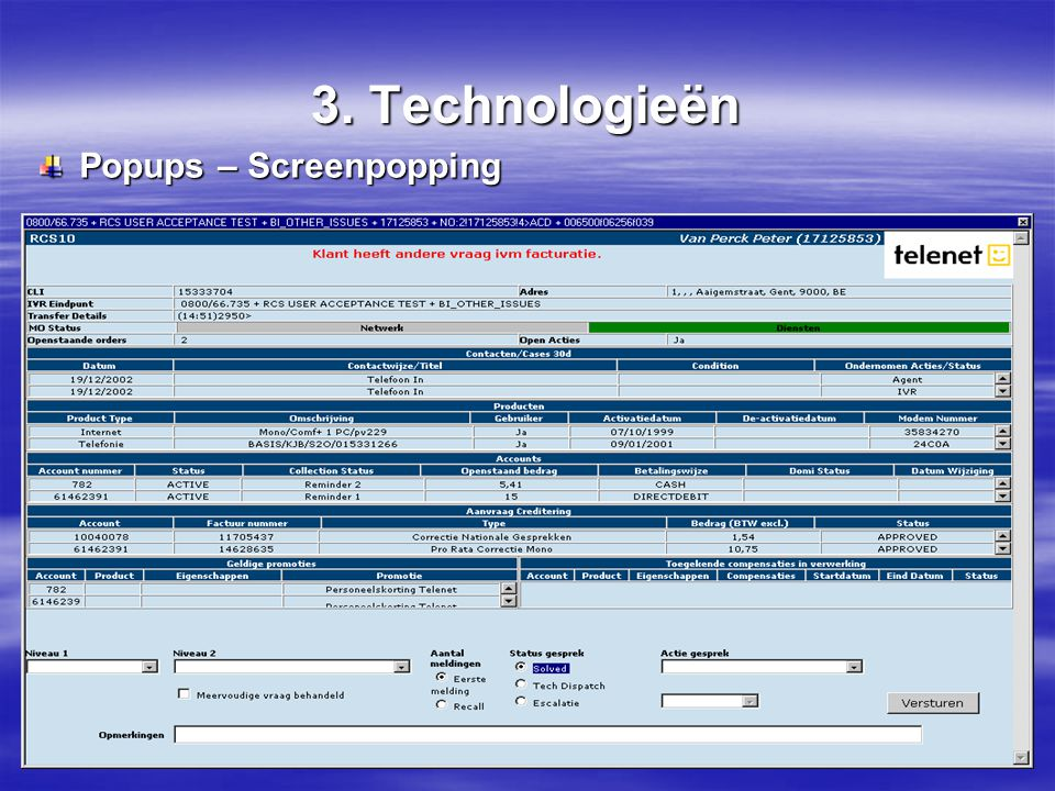 3. Technologieën Popups – Screenpopping