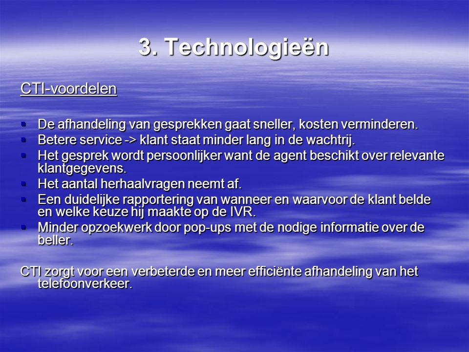 3. Technologieën CTI-voordelen