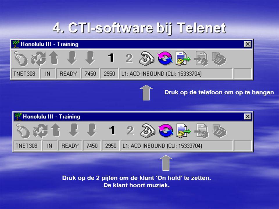 4. CTI-software bij Telenet