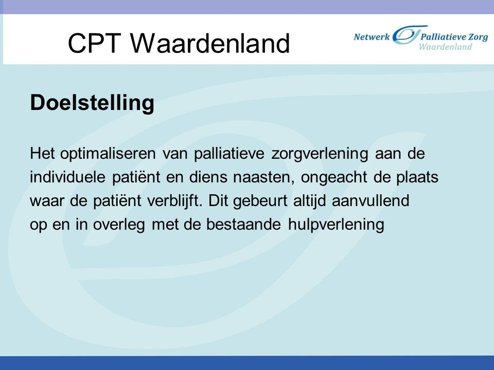 CPT Waardenland Doelstelling