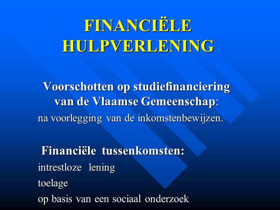 FINANCIËLE HULPVERLENING