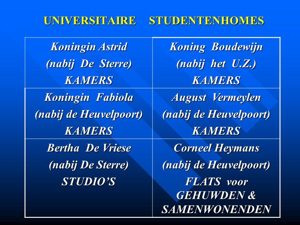 UNIVERSITAIRE STUDENTENHOMES