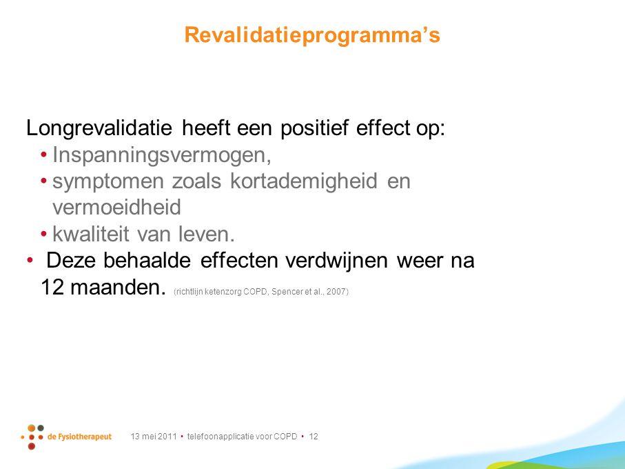 Revalidatieprogramma's