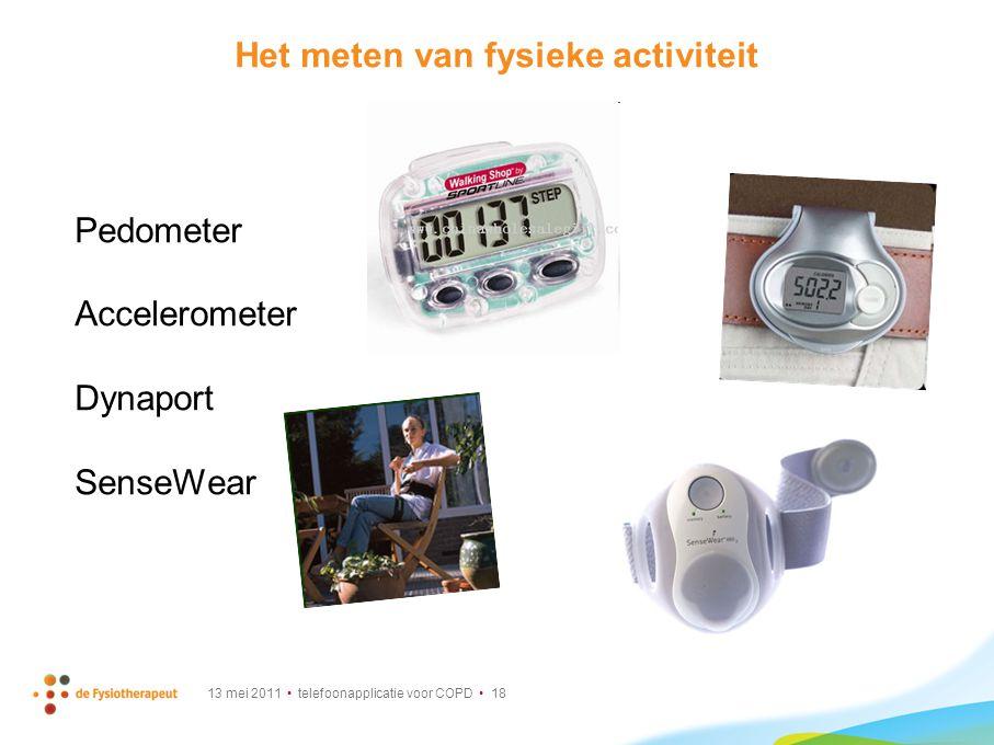 Het meten van fysieke activiteit