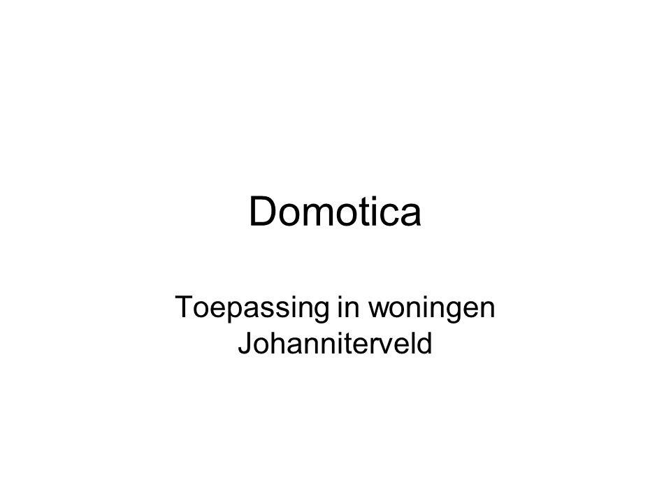 Toepassing in woningen Johanniterveld