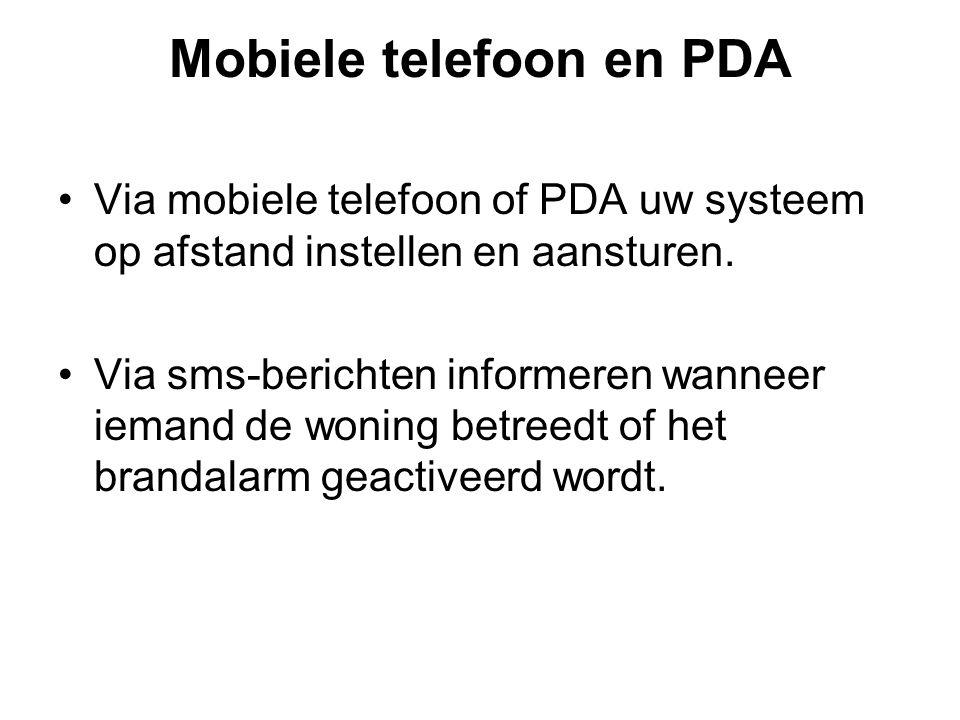 Mobiele telefoon en PDA