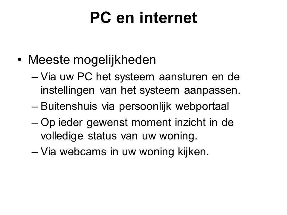 PC en internet Meeste mogelijkheden