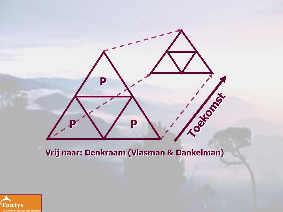 P Toekomst P P Vrij naar: Denkraam (Vlasman & Dankelman)