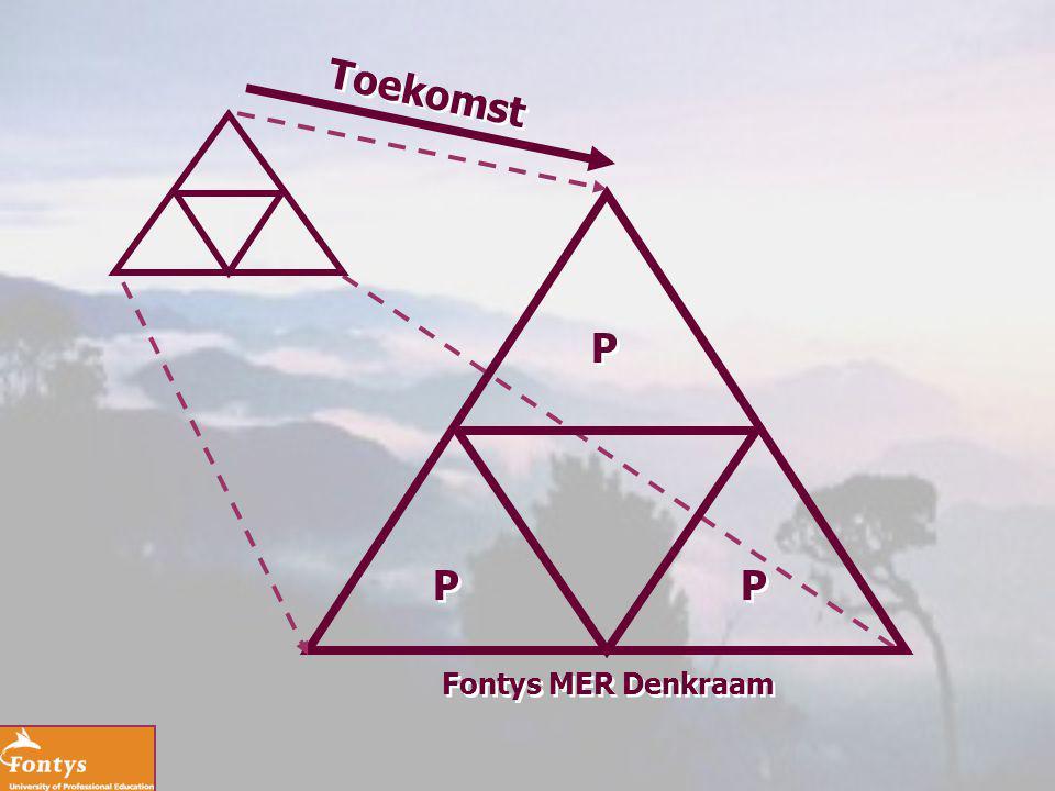 Toekomst P P P Fontys MER Denkraam