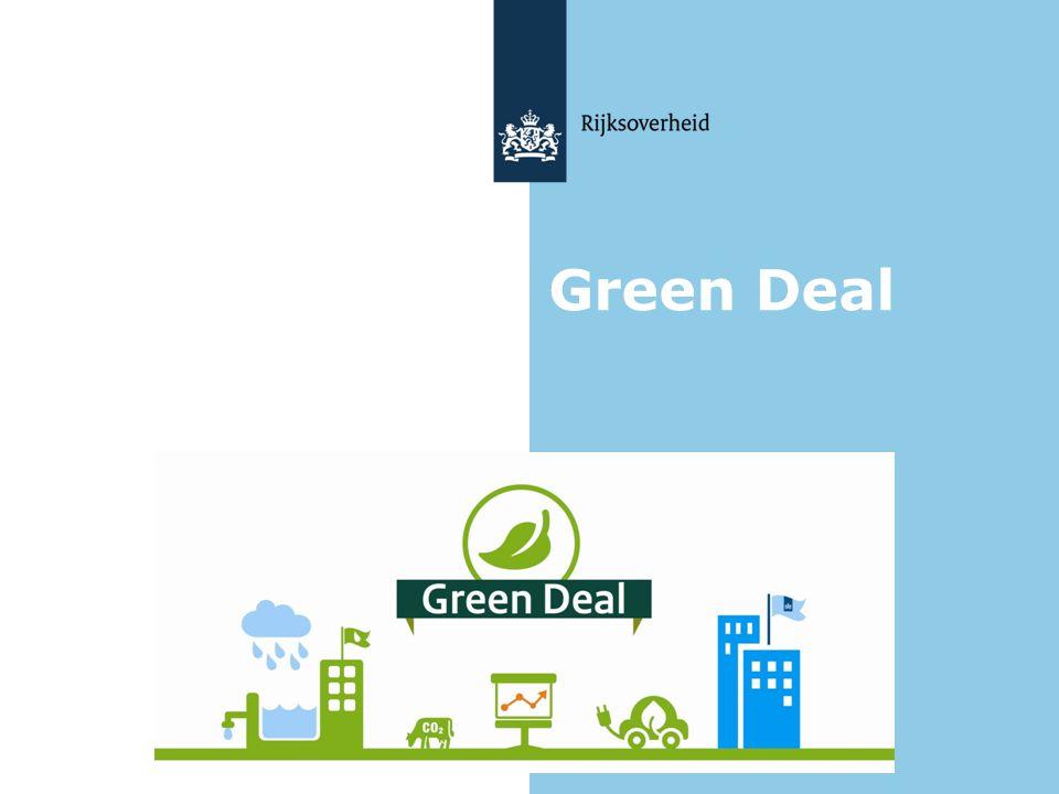 Green Deal Voorstellen wie u bent, relatie aangeven met Green Deal