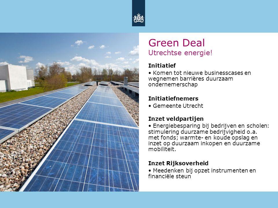 Green Deal Utrechtse energie!