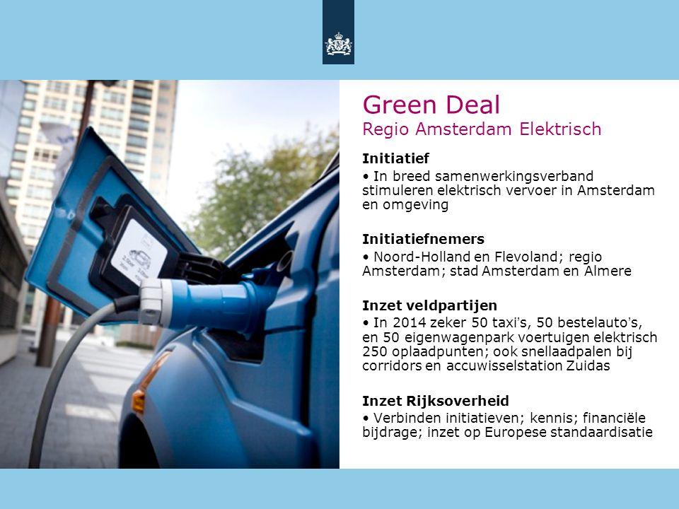 Green Deal Regio Amsterdam Elektrisch