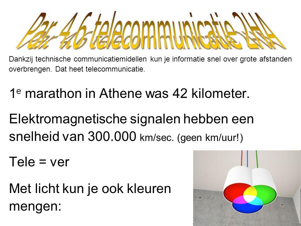 Par. 4.6 telecommunicatie 2HA