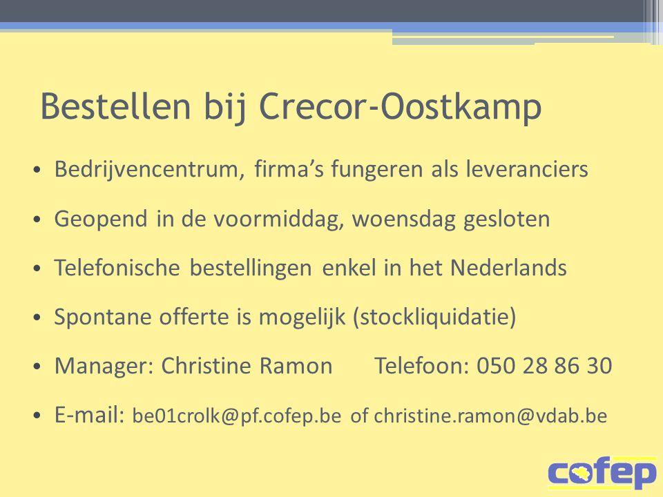 Bestellen bij Crecor-Oostkamp