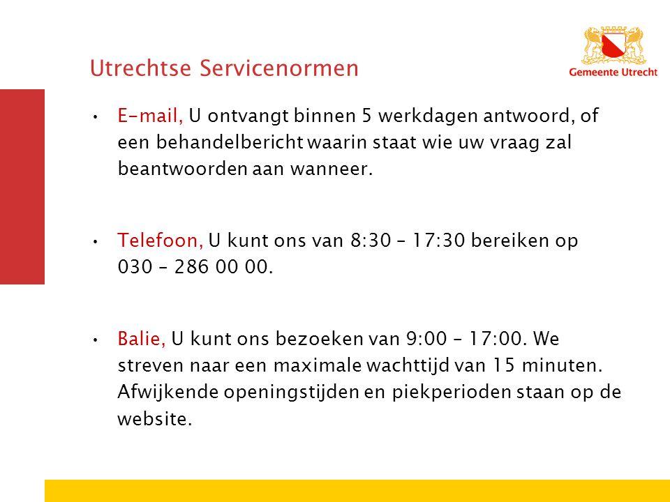 Utrechtse Servicenormen