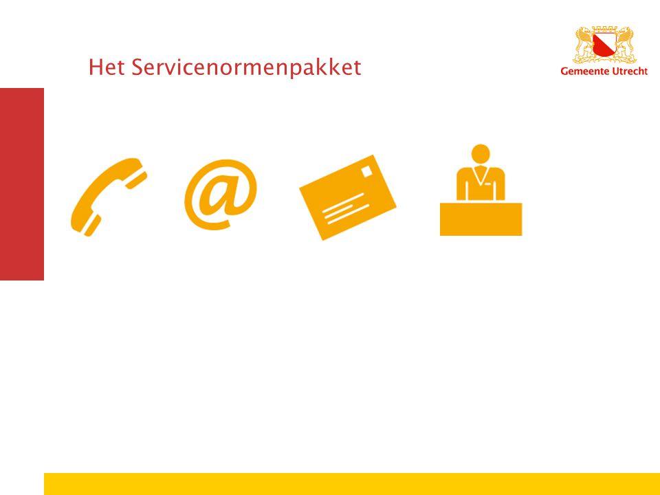 Het Servicenormenpakket