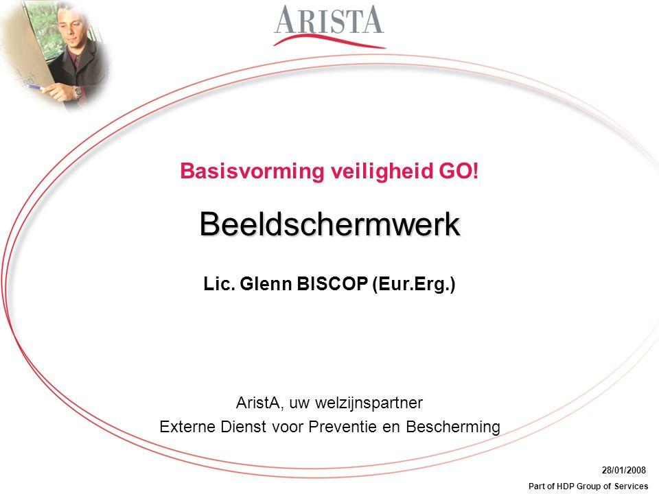 Lic. Glenn BISCOP (Eur.Erg.)