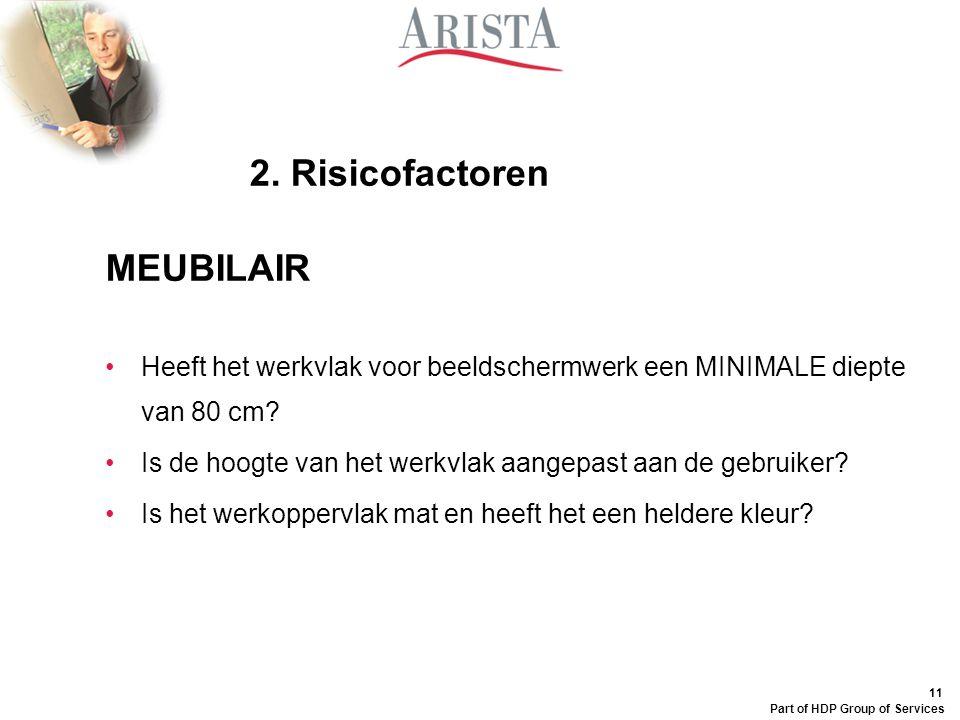 2. Risicofactoren MEUBILAIR