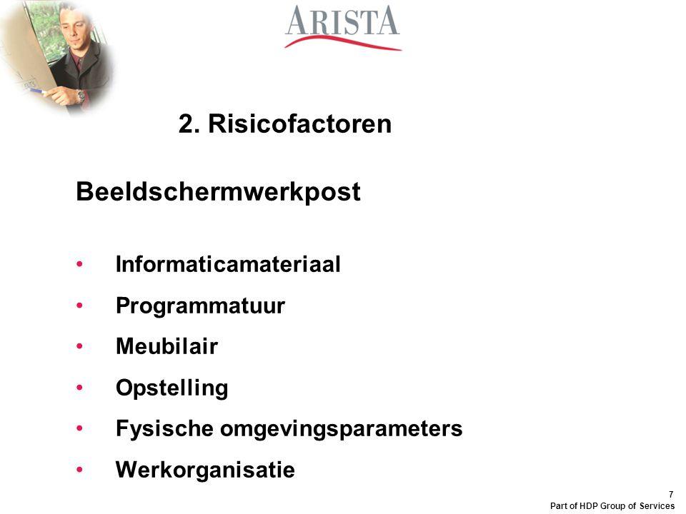 2. Risicofactoren Beeldschermwerkpost Informaticamateriaal