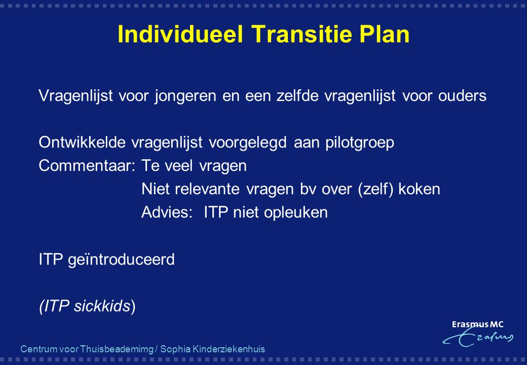 Individueel Transitie Plan