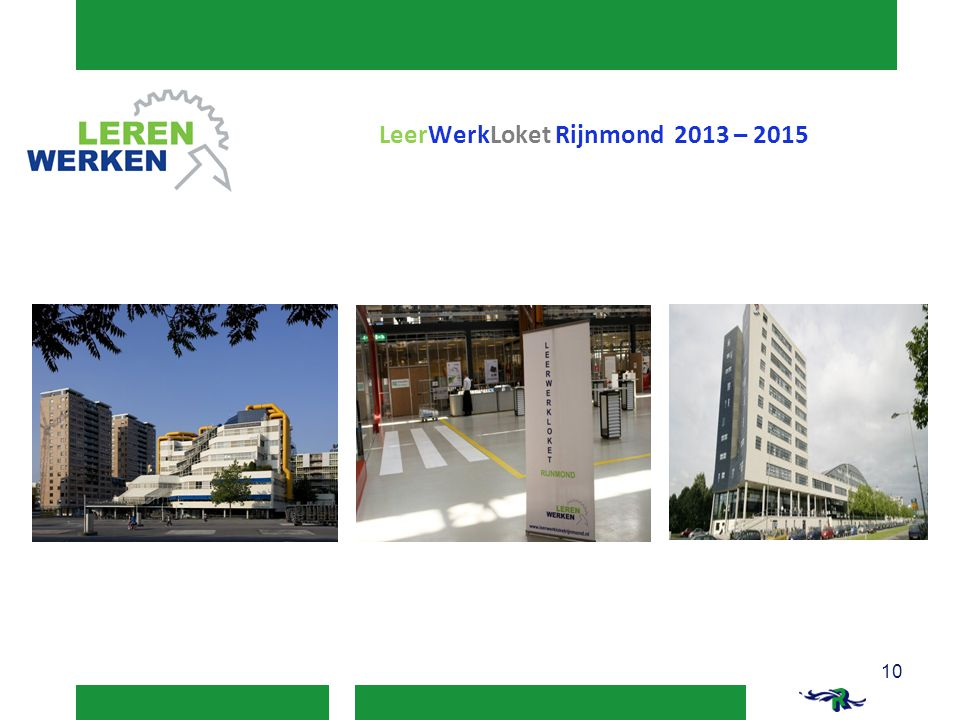 LeerWerkLoket Rijnmond 2013 – 2015
