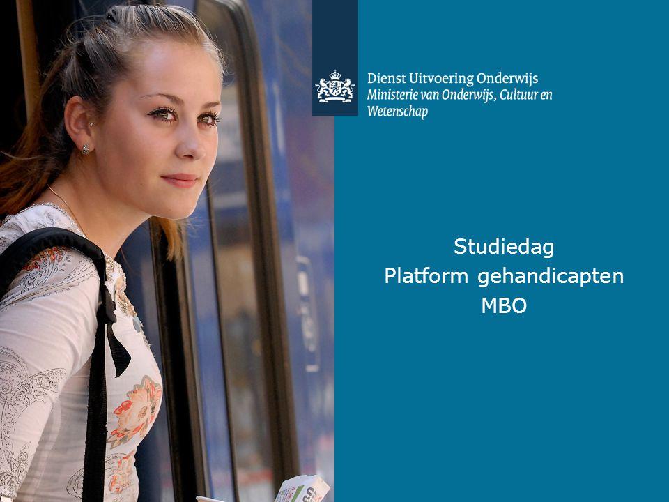 Platform gehandicapten
