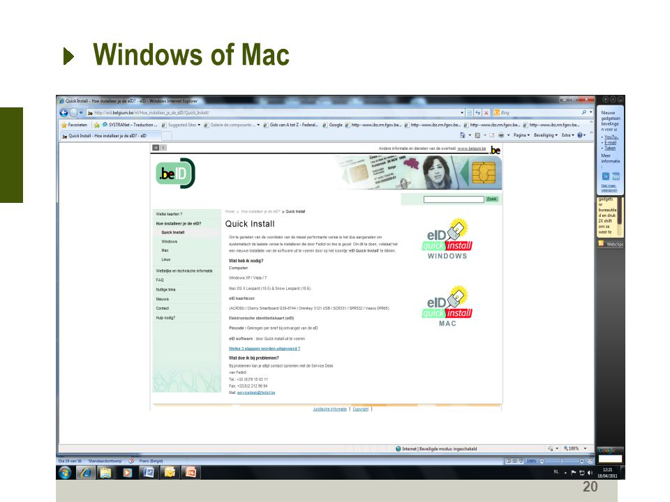 Windows of Mac