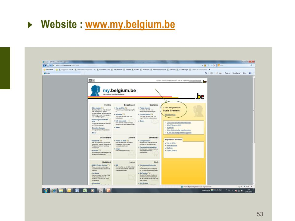 Website : www.my.belgium.be