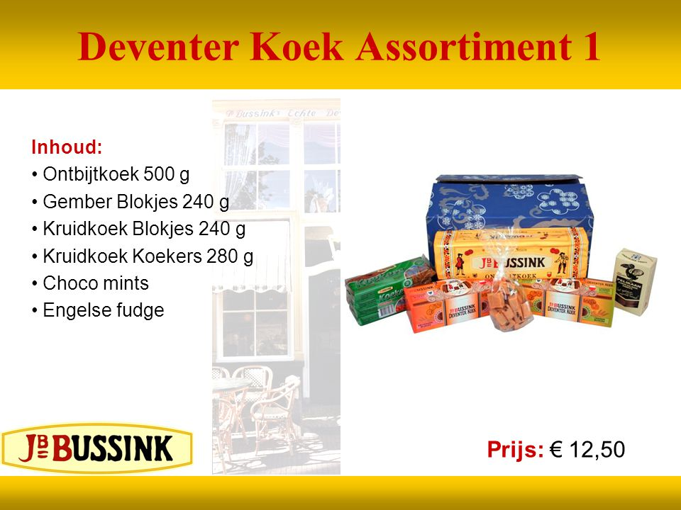 Deventer Koek Assortiment 1