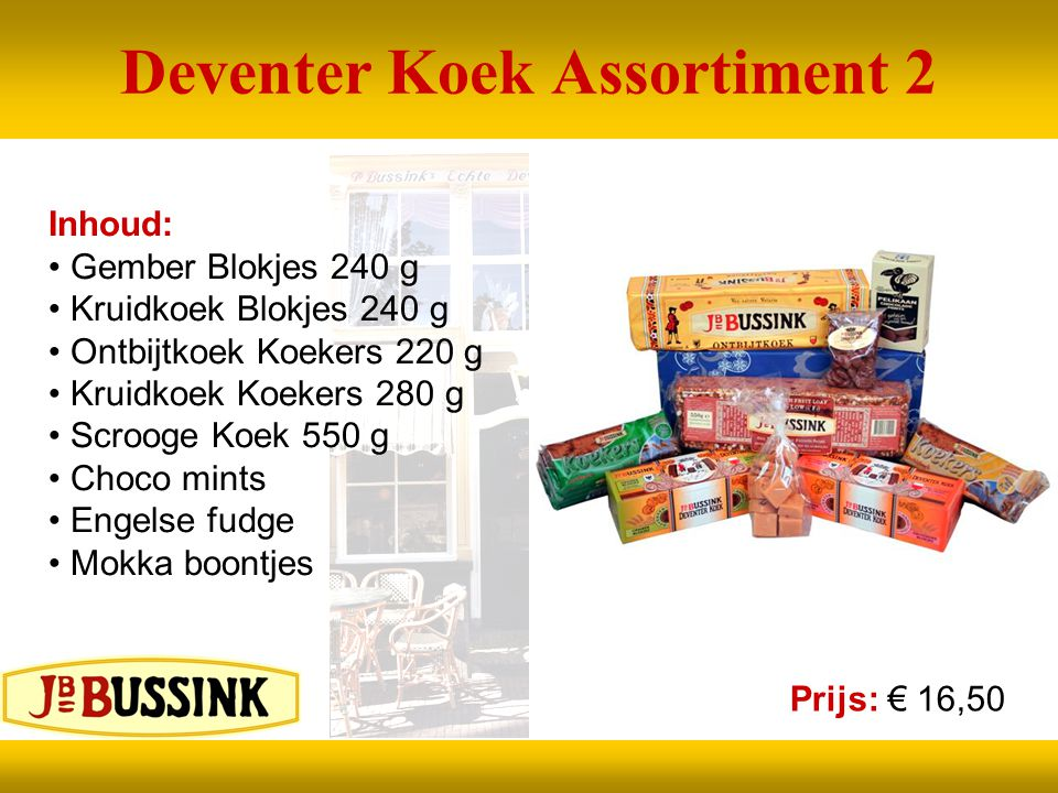 Deventer Koek Assortiment 2
