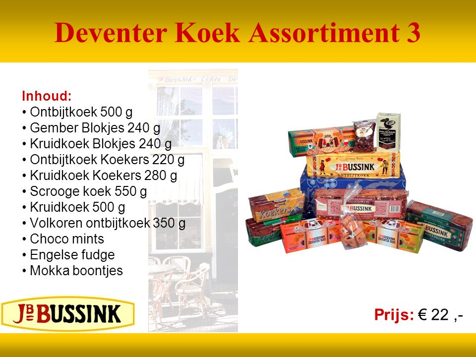 Deventer Koek Assortiment 3