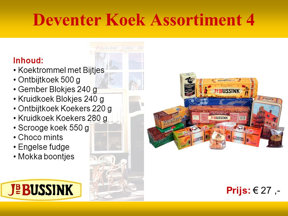 Deventer Koek Assortiment 4
