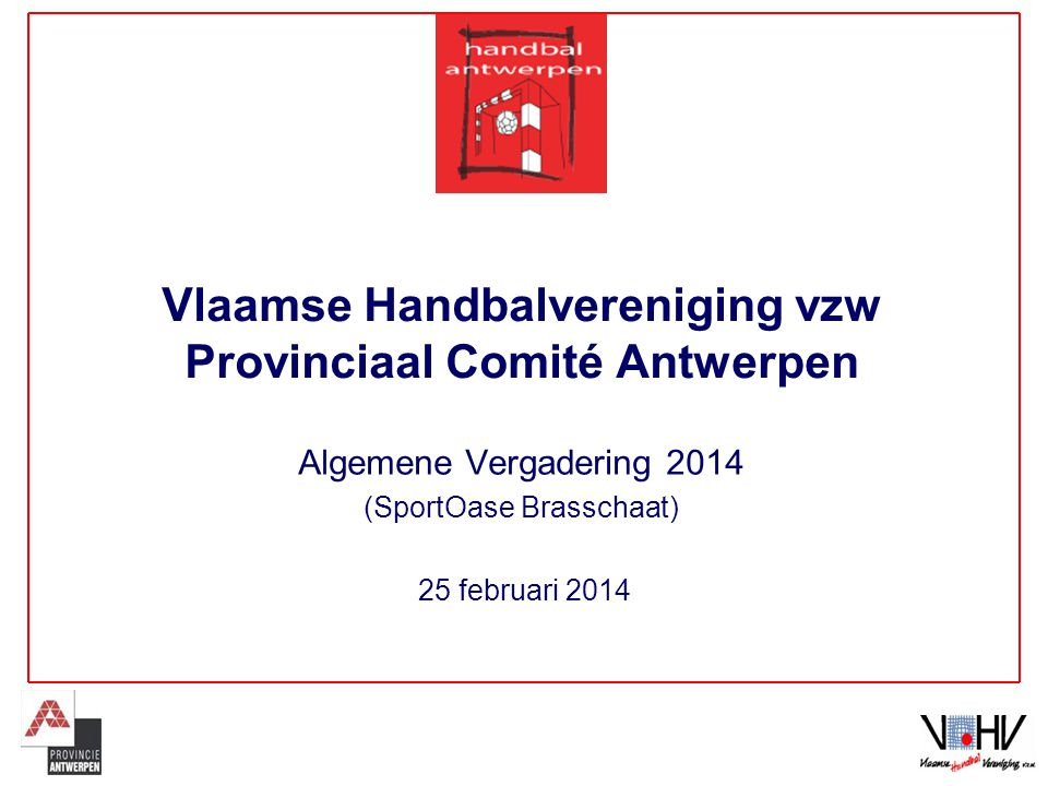 Vlaamse Handbalvereniging vzw Provinciaal Comité Antwerpen